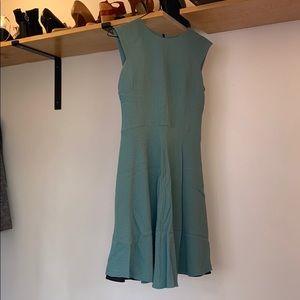 Great Work Office Blue Dress